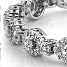 "No shape more aptly fits the diamond nickname ""ice"" than the emerald cut. Developed in the Art Deco era"