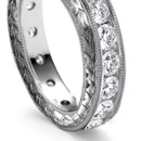 of oblong, pear, square, marquise or round diamonds