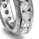 Jeweled Rings for Missess or Ladies Little Finger