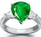 Only Available Exclusively at Online Jewelry Store - Unleavened Emerald Jewelry