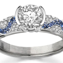 GIA Appraised Sapphire Ring with Certified Diamonds
