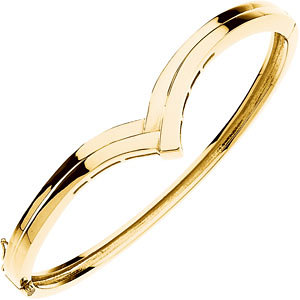 14k Yellow, White, Pink, Rose, Blue Gold Men & Women Bangles