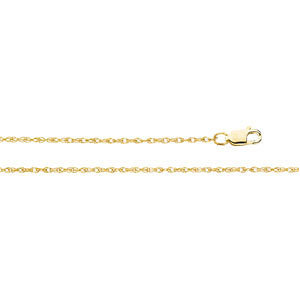 18k Yellow, White, Pink, Rose, Blue Gold Men & Women Chains