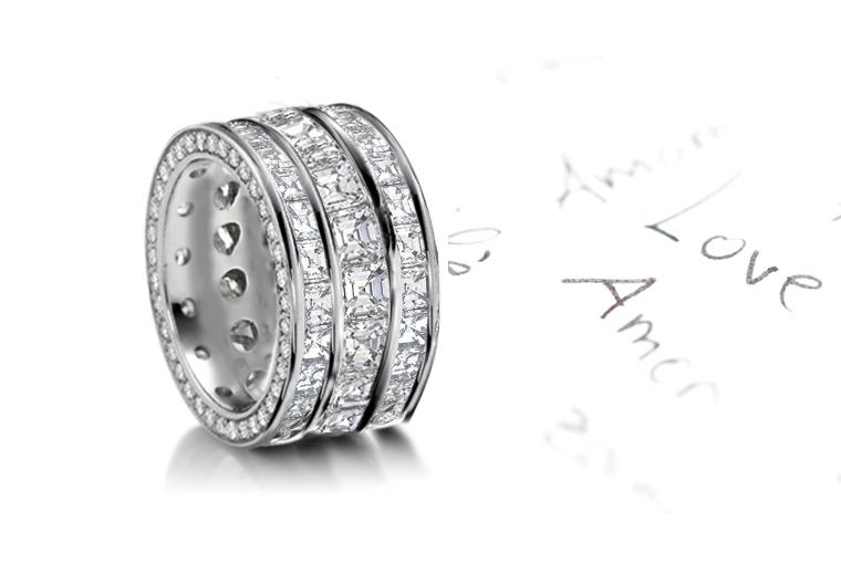 Ruby Diamond Rings | Sapphire Diamond Rings | Emerald Diamond Rings