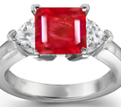 Five Stone Ruby Rings