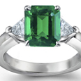 Swiss Lab Certified Emerald 5.45 carats total weight Ring Size 7.25