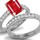 Fine Art Red Rose Ruby Collection