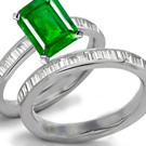 Emerald Diamond Rings, Diamond Emerald Rings, Emerald Diamond Anniversary Bands, Zambian Emerald, Columbian Emerald, Brazilian Emerald