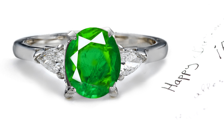 Emerald Rings Buy from Exclusive Ring Collection at Sndgems