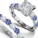 Diamond line bracelet, Diamond studs, Diamond hoops