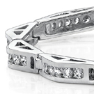 Contemporary marquise-cuts have a hexagon-shaped table, thirty-two trapezoid and triangular facets on the crown