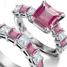 Fred Leighton featuring a vintage 10-carat marquise-shaped diamond set horizontally