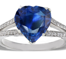 High-quality sapphires are cut to maximize the quality of their color, not their size. At Sndgems.com, you'll find our hand-selected sapphire jewelryhasvibrant, saturated color, pure hues, and good translucency. Sapphire is the traditional birthstone for the month of September.