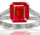 Burma Ruby Rings