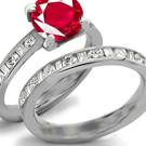 Certified Diamond Ruby Rings Website