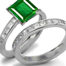 Emerald Full Eternity Ring