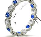 Sapphire Diamond Rings, Diamond Sapphire Rings, Sapphire Diamond Anniversary Bands, Ceylon Sapphire, Thai Sapphire, Kashmir Sapphire