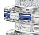 sapphires are most popular choice for the small band of brides