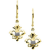Fleur-de-lis Dangle Mounting