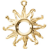 Sun Dangle Mounting Round Center