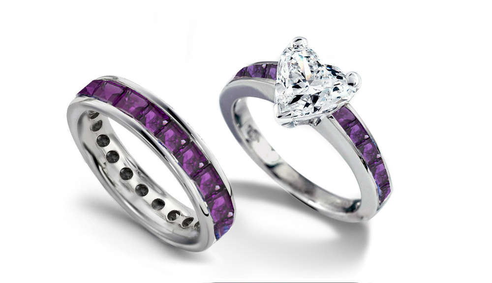 Stunning Pink Camo Wedding Rings With Real Diamonds Gallery Styles