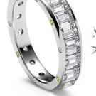 ENGRAVED CUTS OF DIAMOND ENGAGEMENT AND OTHER RINGS