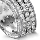 Diamond Guard Rings