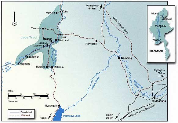Ruby Mines - Burma Mogok Mines, Ceylon Mines, Thai Mines, African Mines