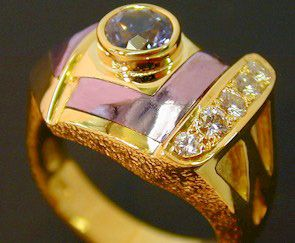Purple Gold Jewelry