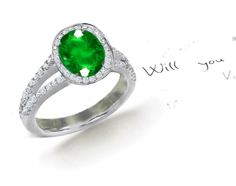 designer collection micro pave split shank engagement rings