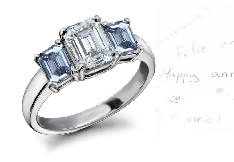 Blue diamond jewelry blue diamond engagement rings at sndgems amp co