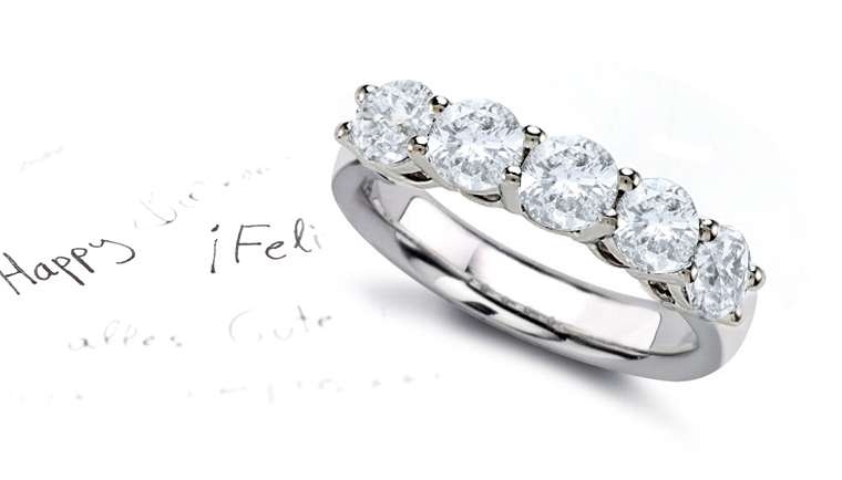 Celebrate Wedding Aniversary Diamond Rings Anniversary
