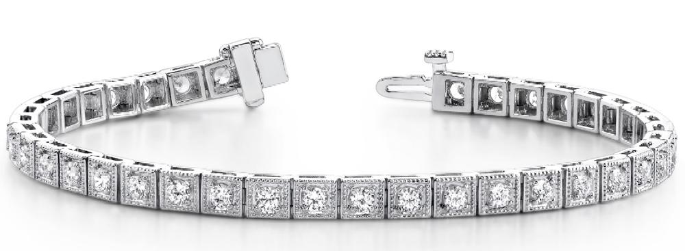 Premier Designer Diamond Jewelry Classic Diamond Tennis Bracelets