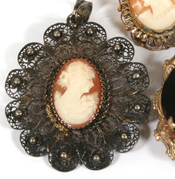 Ancient Cameo French Pendant, Masterpiece