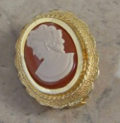Ancient Cameo Pendant, Masterpiece of Art of Cameo Cutting, Noah Carnelian Carved Victorian