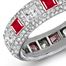 copies, images, pictures of mesmerizing ruby eternity rings