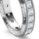 set with small and medium size diamonds, some with interchangeable clasps to form neck bands