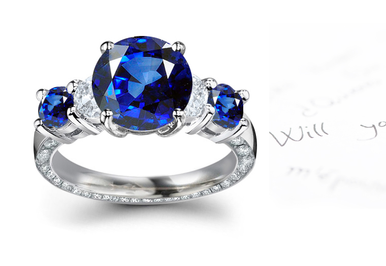 sapphire rings antique vintage edwardian art deco art noveau georgian diamond