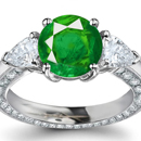 Certified Diamond Emerald Rings Website