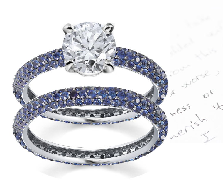 rings featured shank sapphire and twisted ring engagement white gabriel gold rounded diamond with
