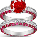 Episcopal Ruby Ring Made in USA