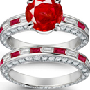 Purity Ruby Ring in Sterling Silver