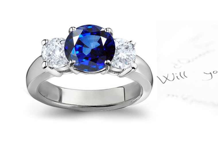SAPPHIRE RING GALLERY | SAPPHIRE RINGS