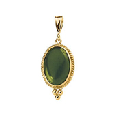Real Green Jade Pendant
