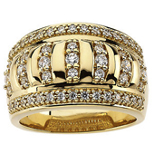 Gold Wedding Anniversary Etruscan Band