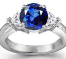 sapphire ring, sapphire diamond ring, platinum sapphire engagement ring, sapphire anniversary band, burmese blue sapphire., sapphire eternity band