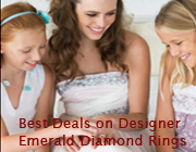 Best Deals on Fine Genuine Emerald Ring Ring Largest & Finest Collection Anywhere