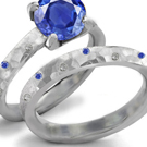 14k Yellow, White Gold, Platinum, Sterling Silver