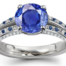 Sapphire Rings With Diamonds