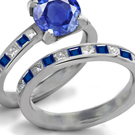 Fashion Jewelry-Rings Sapphire